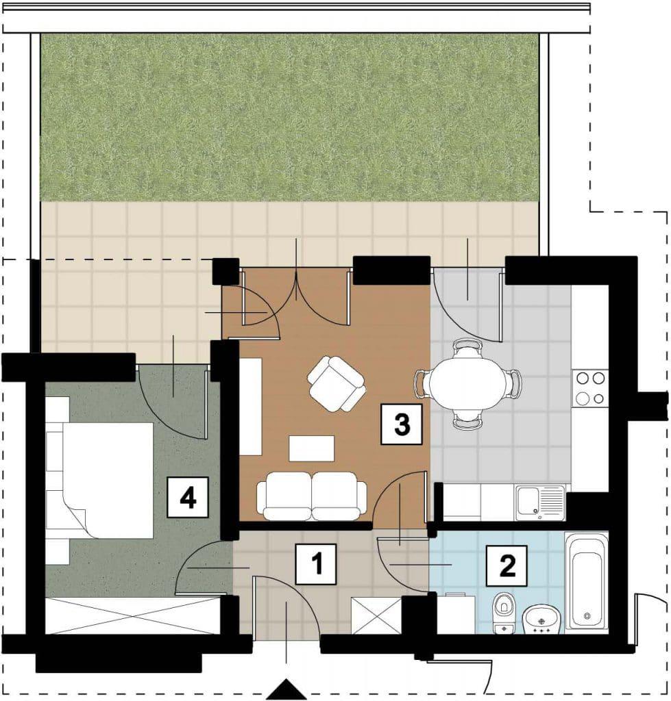 17 39 rzut 17 12 rzut 979x1024 - Kolejne przetargi na lokale mieszkalne