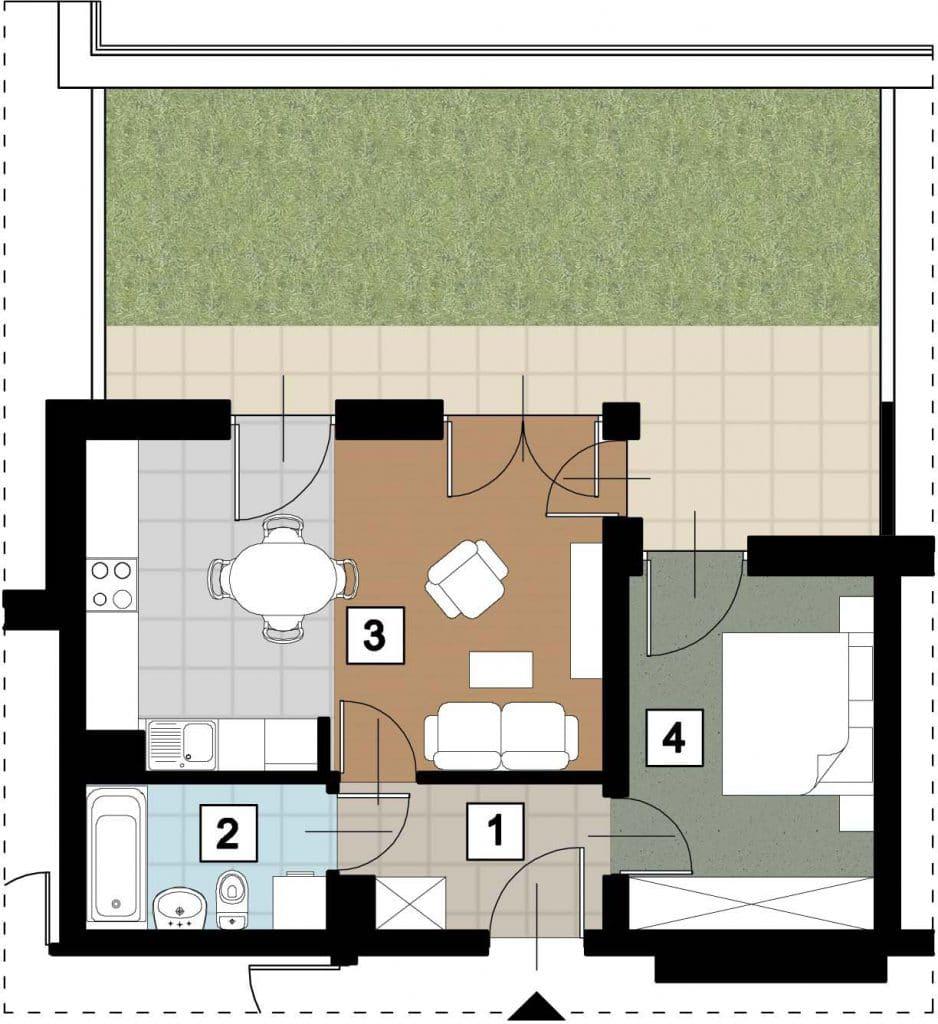 17 38 rzut 17 11 rzut 938x1024 - Kolejne przetargi na lokale mieszkalne