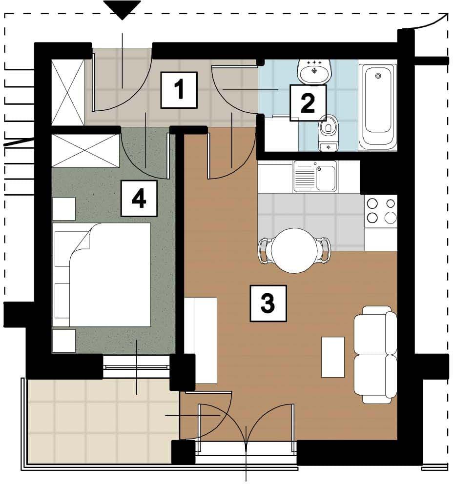 17 51 rzut 17 14 rzut 2 - Kolejne przetargi na lokale mieszkalne